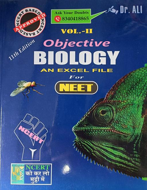 Image result for dr ali objective biology volume 2