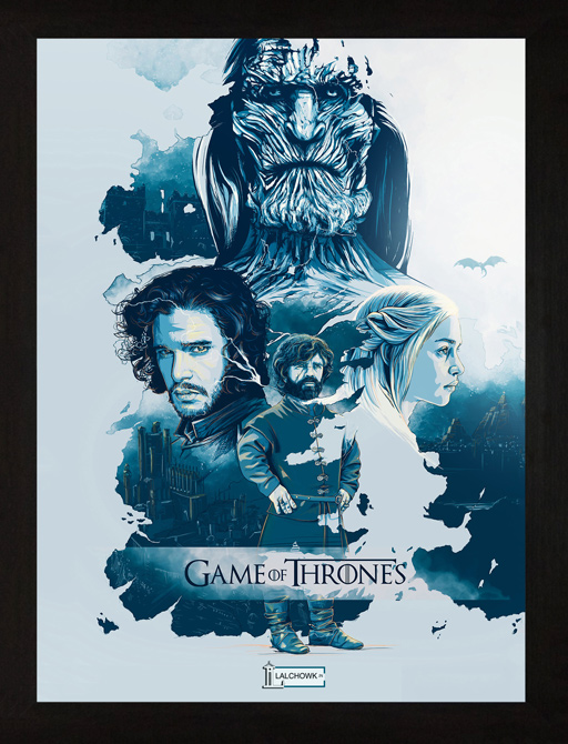 Game of Thrones Poster 23 A4 /& A3