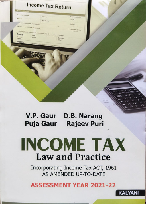2020 New Tax Laws.Income Tax Law And Practice Assessment Year 2019 2020